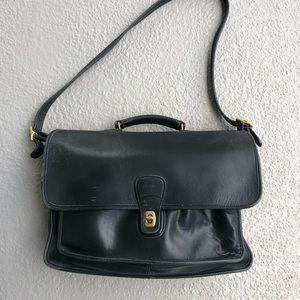 Vintage Coach Black Briefcase